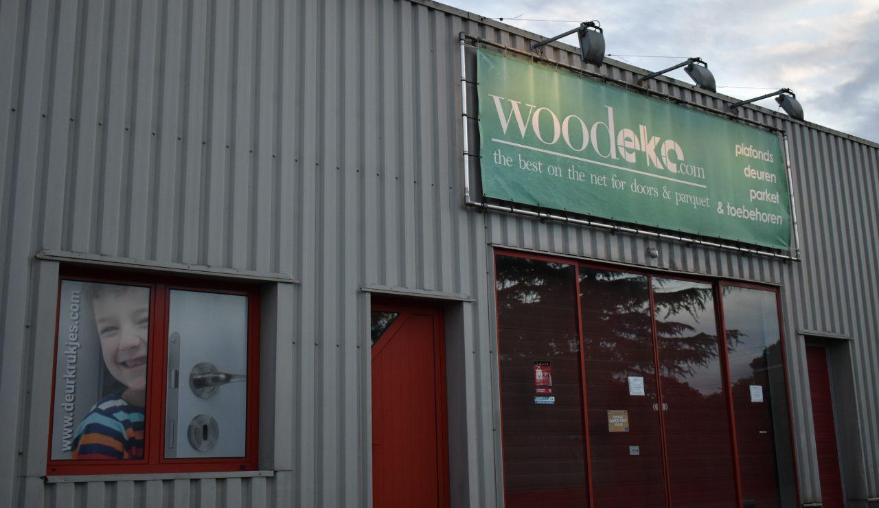 Woodeko winkel buiten